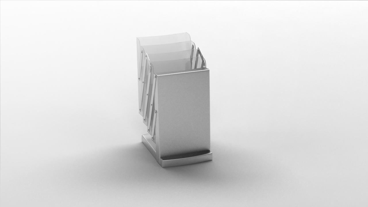stojak na ulotki